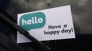 happybusinesscard