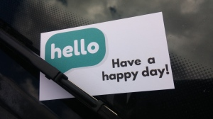 happybusinesscard